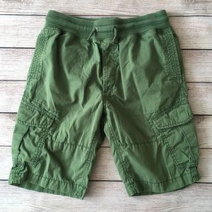 Boys Green Gap Cargo Shorts